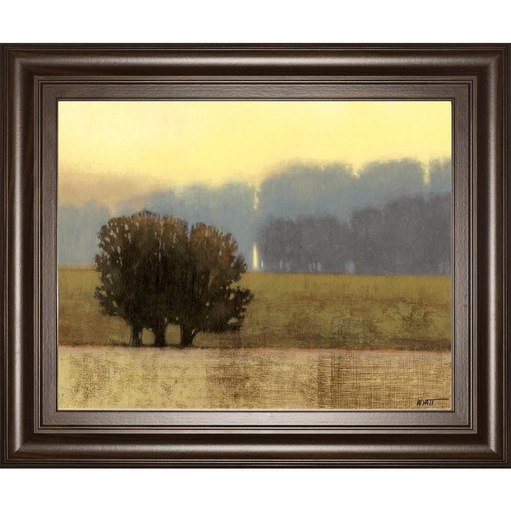 """22 in. x 26 in. """"Villa Park I"""" by Norman Wyatt JR. Framed Printed Wall Art"""