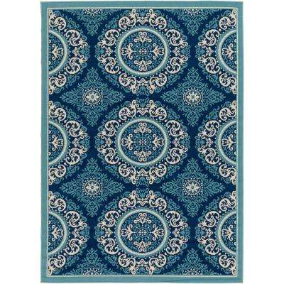 Nouvel Slate 2 ft. x 3 ft. Indoor/Outdoor Area Rug