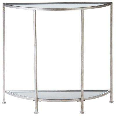 Silver Console Tables Accent Tables The Home Depot