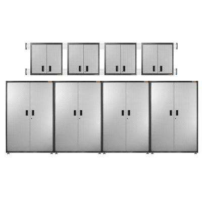 ready to assemble garage storage systems garage cabinets rh homedepot com gladiator caster kit for ready to assemble free standing garage cabinets caster kit for ready to assemble free standing garage cabinets
