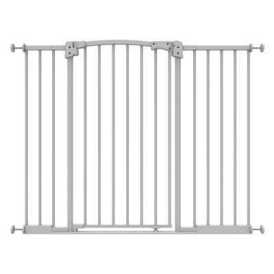 36 in. H Extra Wide and Extra Tall Safe Step Pressure Mounted Baby Gate