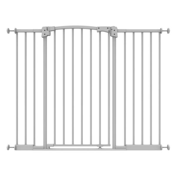 Perma Child Safety 36 In H Extra Wide And Extra Tall Safe Step Pressure Mounted Baby Gate 2181 The Home Depot