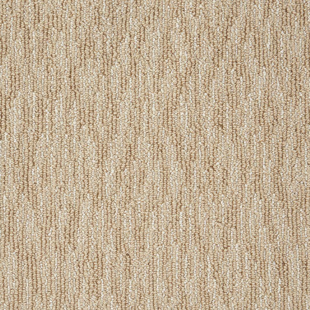 Oceanic Tweed - Color Camel 12 ft. Carpet