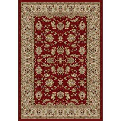 Jewel Antep Red 7 ft. x 9 ft. Area Rug
