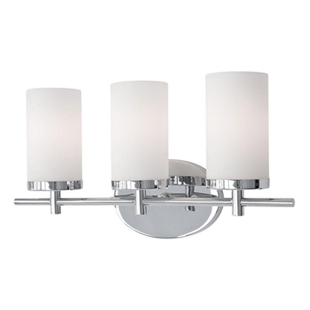 Tech Lighting Home Depot: Radionic Hi Tech Bailey 3-Light Chrome Bath Light-K_VA