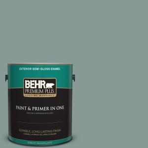 490f 5 Cloud Burst Semi Gloss Enamel Exterior Paint