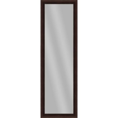Large Rectangle Brown Art Deco Mirror (51.875 in. H x 15.875 in. W)