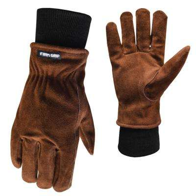 FG Suede Leather Glove with Knit Wrist