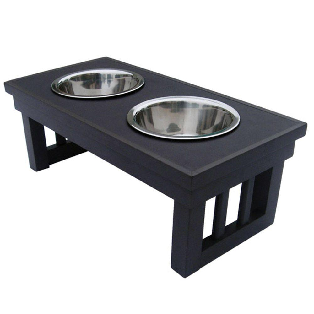 New Age Pet Habitat 'n Home Raised Double Diner-DISCONTINUED