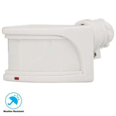 270 Degree White Replacement Outdoor Motion Sensor