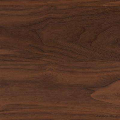 4 in. x 4 in. Wood Countertop Sample in Black Walnut Plank