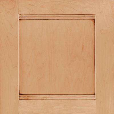 14-9/16x14-1/2 in. Cabinet Door Sample in Del Ray Maple Coffee Glaze