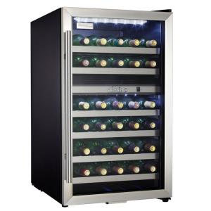 Danby 20 inch 38-Bottle Wine Cooler with Two Temperature Zones by Danby