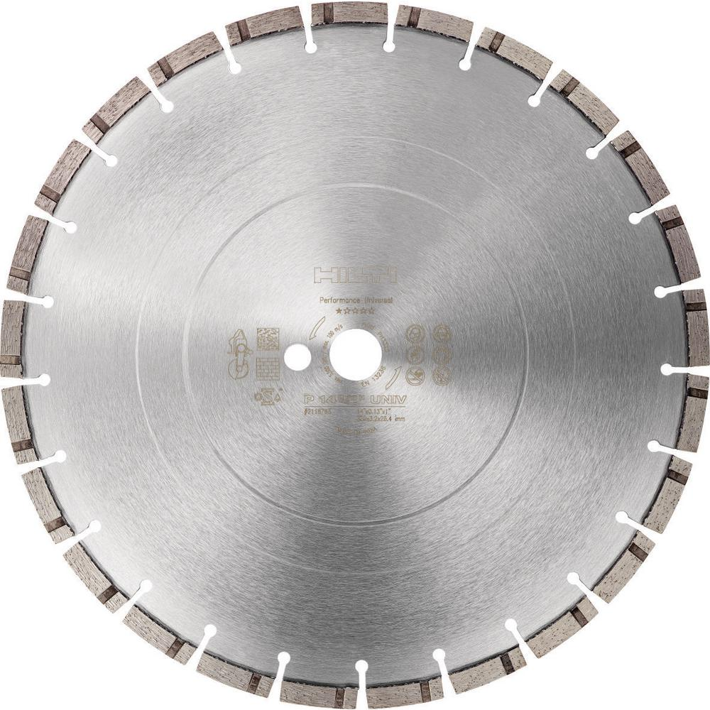 14 in. Segmented Cutting Diamond Blade P-S 14 in. x 1