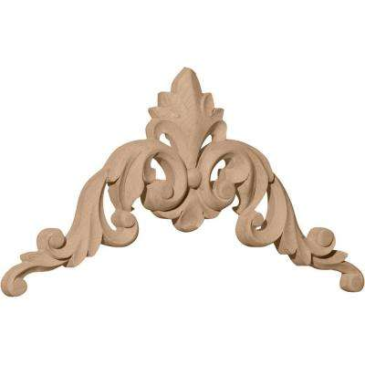 Raymond 1 in. x 8 in. x 8 in. Unfinished Alder Large Corner Moulding