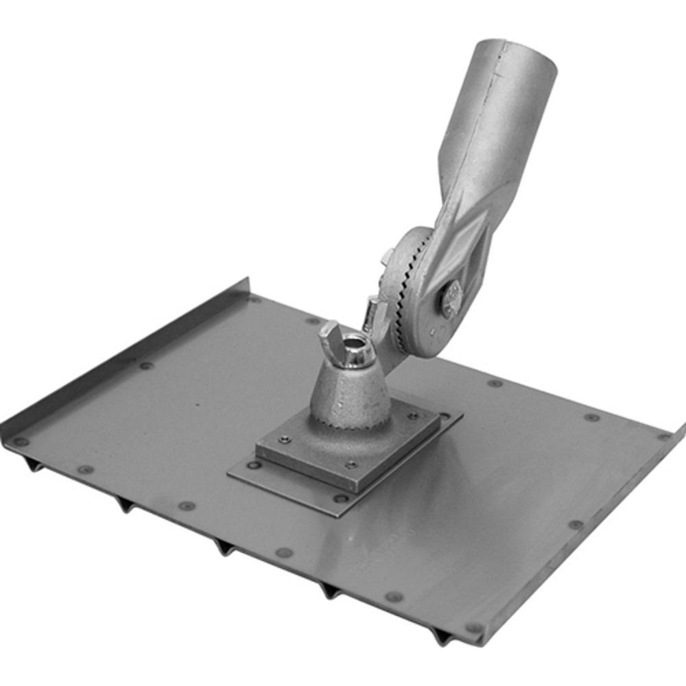 8 in. x 10-1/2 in. Stainless Steel Wheelchair Walking Groover - DuraSoft Handle