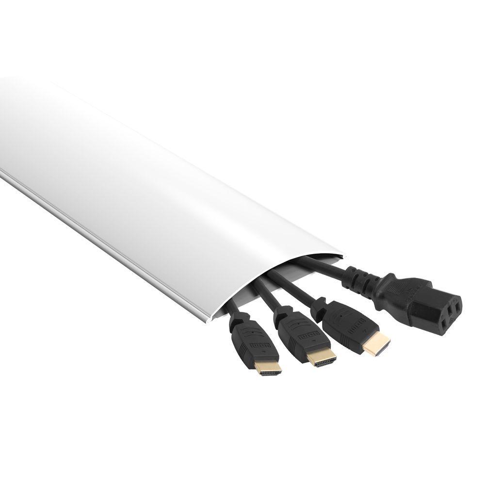 Low Profile Cable Management - 1.8m/6ft - White_x000D_