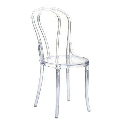 Clear Spin Dining Chair
