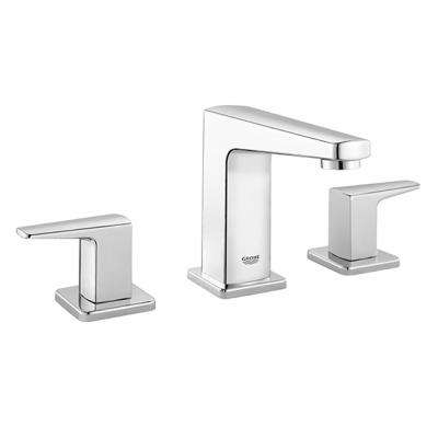Tallinn 8 in. Widespread Two-Handle Bathroom Faucet in Starlight Chrome