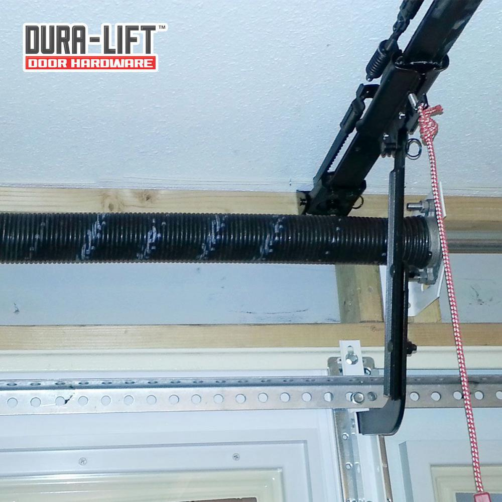 Dura Lift 0 250 In Wire X 2 In D X 33 In L Torsion Springs In Gold Left And Right Wound Pair For Sectional Garage Door Dltgo233b The Home Depot