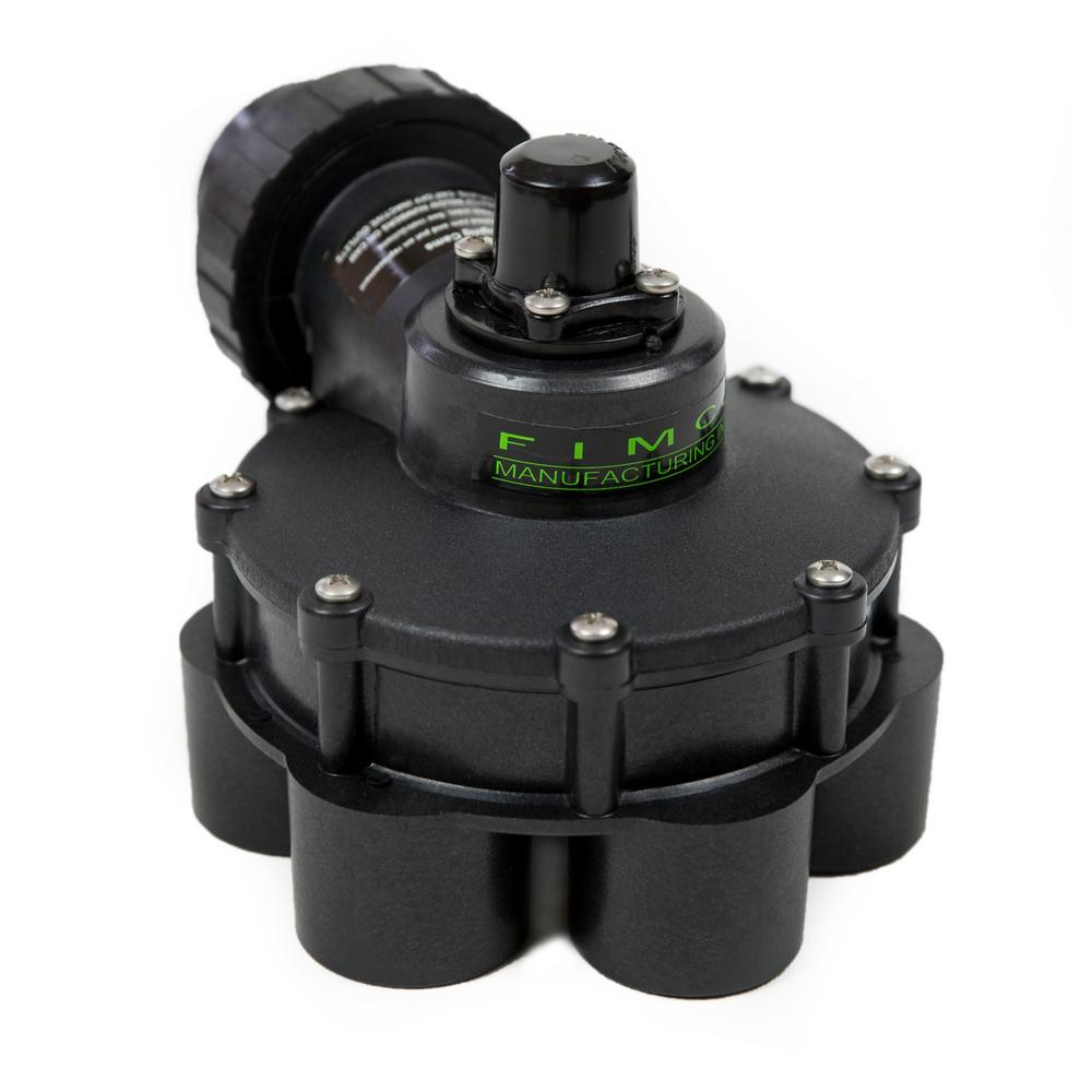 1-1/4 in. Standard 6 Outlet Indexing Valve with 5 and 6 Zone Cams