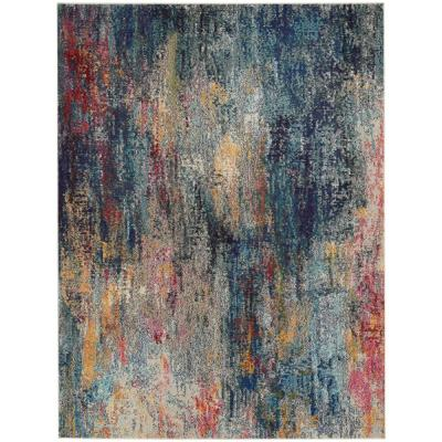 Celestial Multicolor 7 ft. 10 in. x 10 ft. 6 in. Area Rug