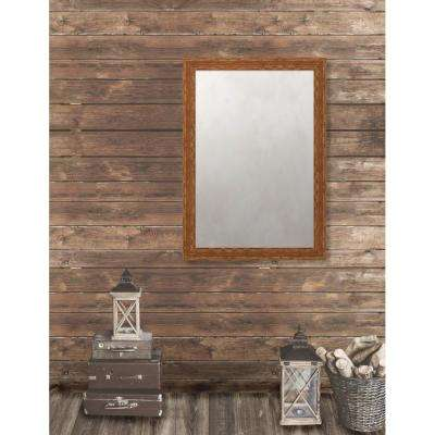 Remington 28.75 in. x 40.75 in. French Antique Wide Framed Antique Mirror