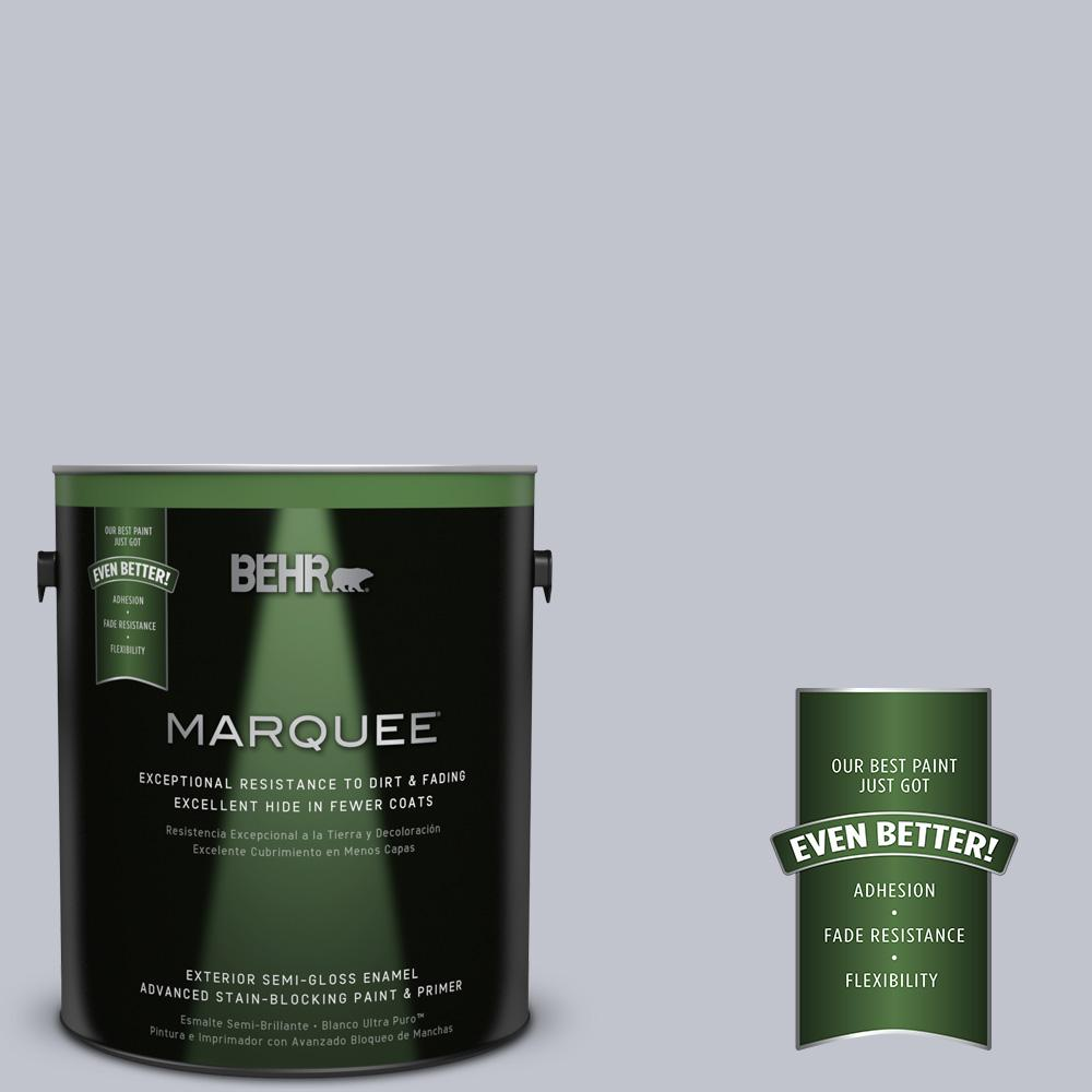 BEHR MARQUEE 1-gal. #N540-2 Glitter Semi-Gloss Enamel Exterior Paint