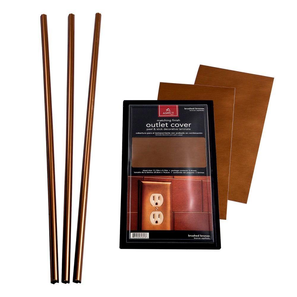 Backsplash Accessory Kit in Copper