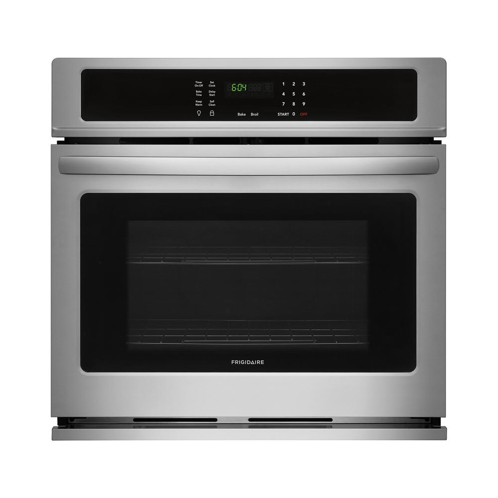 Frigidaire 30 In Single Electric Wall Oven Self Cleaning