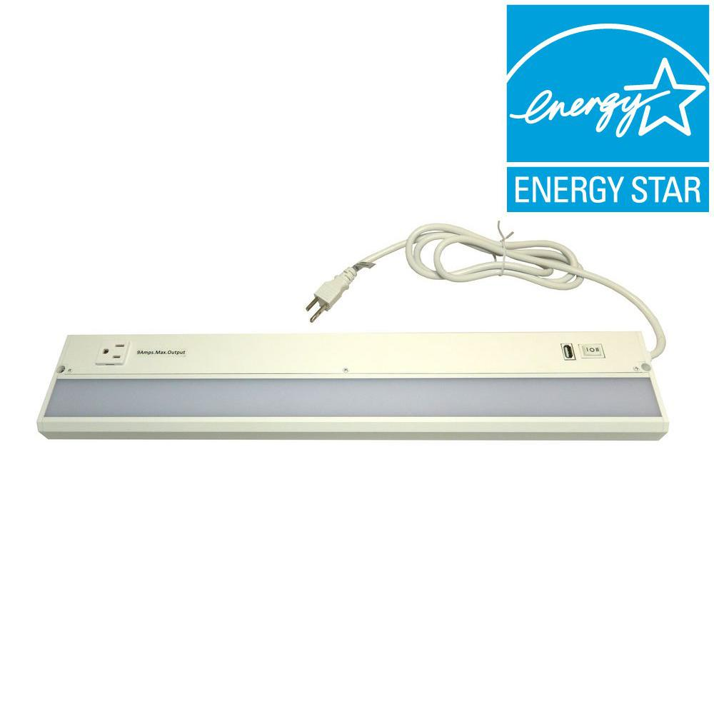 Radionic Hi Tech ECO-II 22 in. LED White Under Cabinet Light with ...