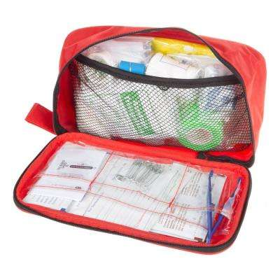 Outdoor First Aid Kit for Backpacking, Camping and Hiking (180-Piece)