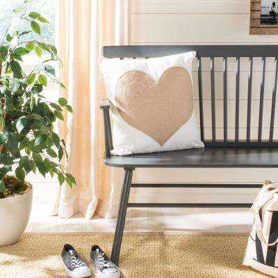 Heart of Gold Standard Pillow