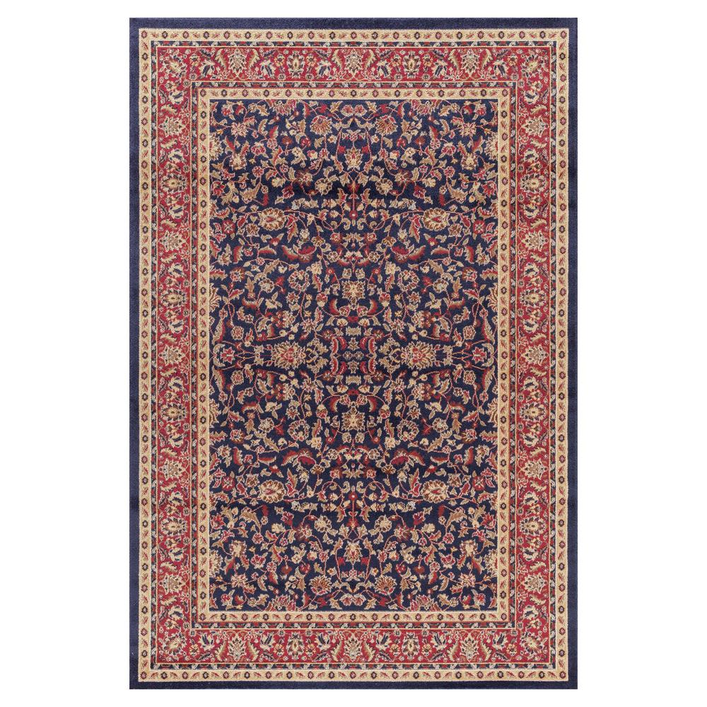 Jewel Kashan Navy (Blue) 2 ft. 7 in. x 4 ft. Accent Rug