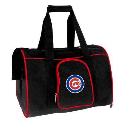 MLB Chicago Cubs Pet Carrier Premium 16 in. Bag in Red