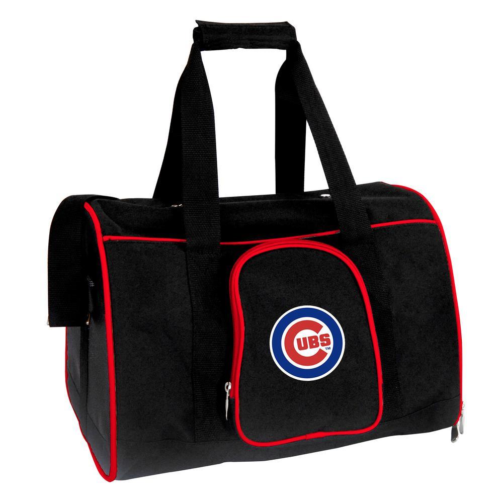 Denco MLB Chicago Cubs Pet Carrier Premium 16 in. Bag in