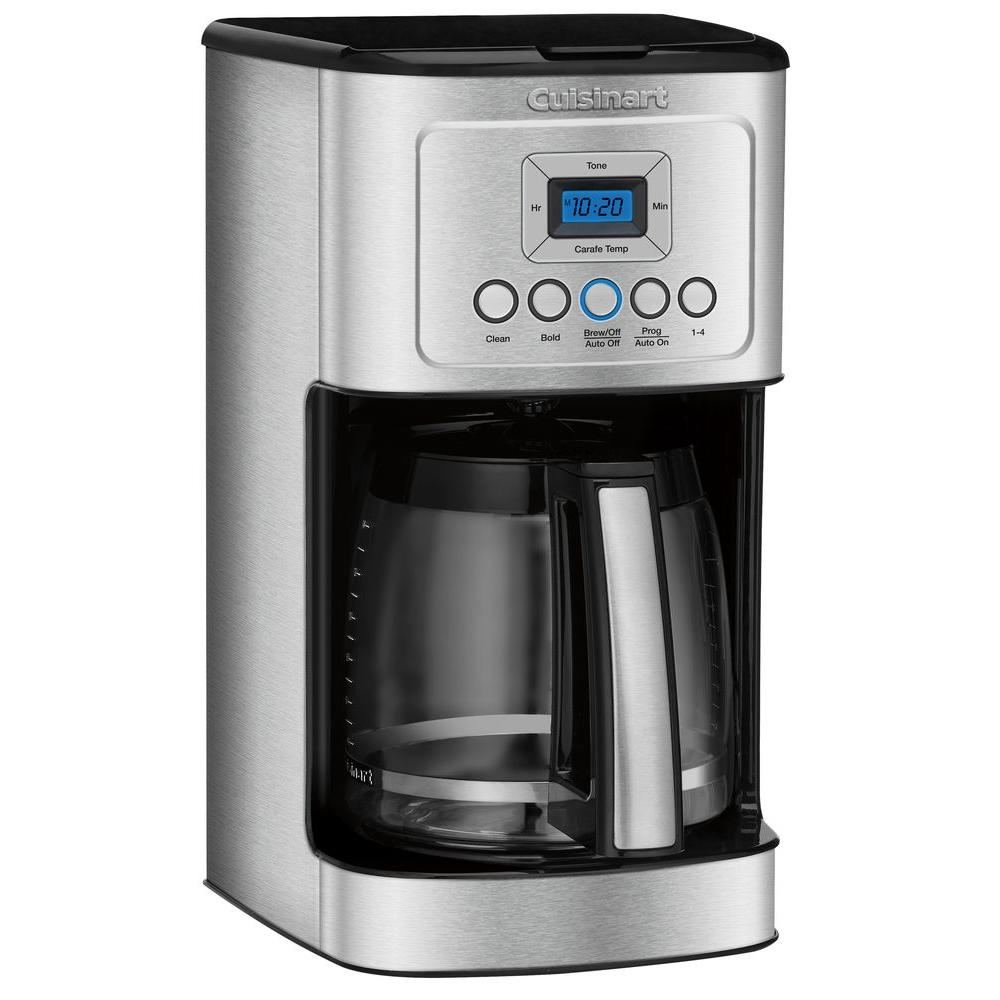 cuisinart perfectemp 14 cup coffee maker dcc 3200 the home depot. Black Bedroom Furniture Sets. Home Design Ideas