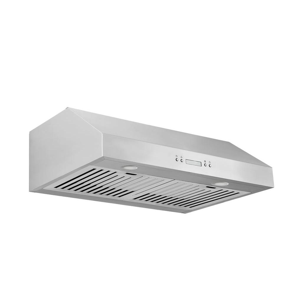 Bon Under Cabinet Range Hood In Stainless Steel