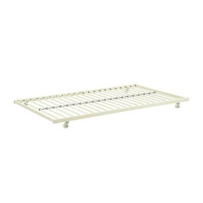 Levi White Metal Universal Trundle for Daybeds