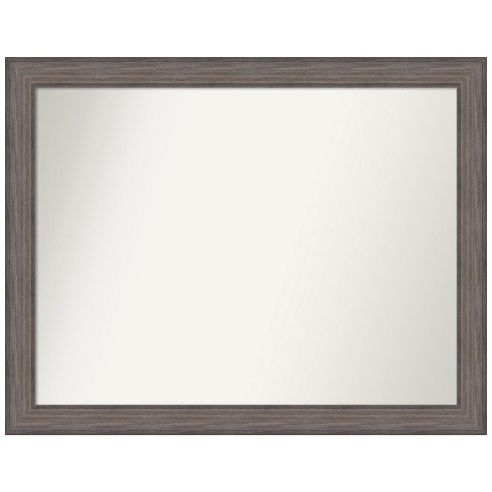Amanti Art Choose Your Custom Size 46.25 in. x 36.25 in. Country Barnwood Decorative Wall Mirror was $589.95 now $294.97 (50.0% off)