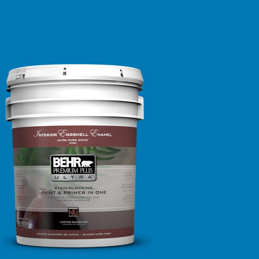 BEHR Premium Plus Ultra 5-gal. #P500-6 Deep River Eggshell Enamel Interior Paint