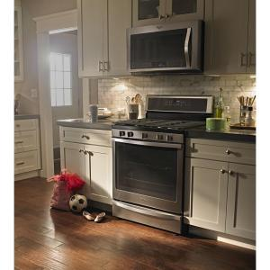 5 Whirlpool 1 9 Cu Ft Over The Range Convection Microwave