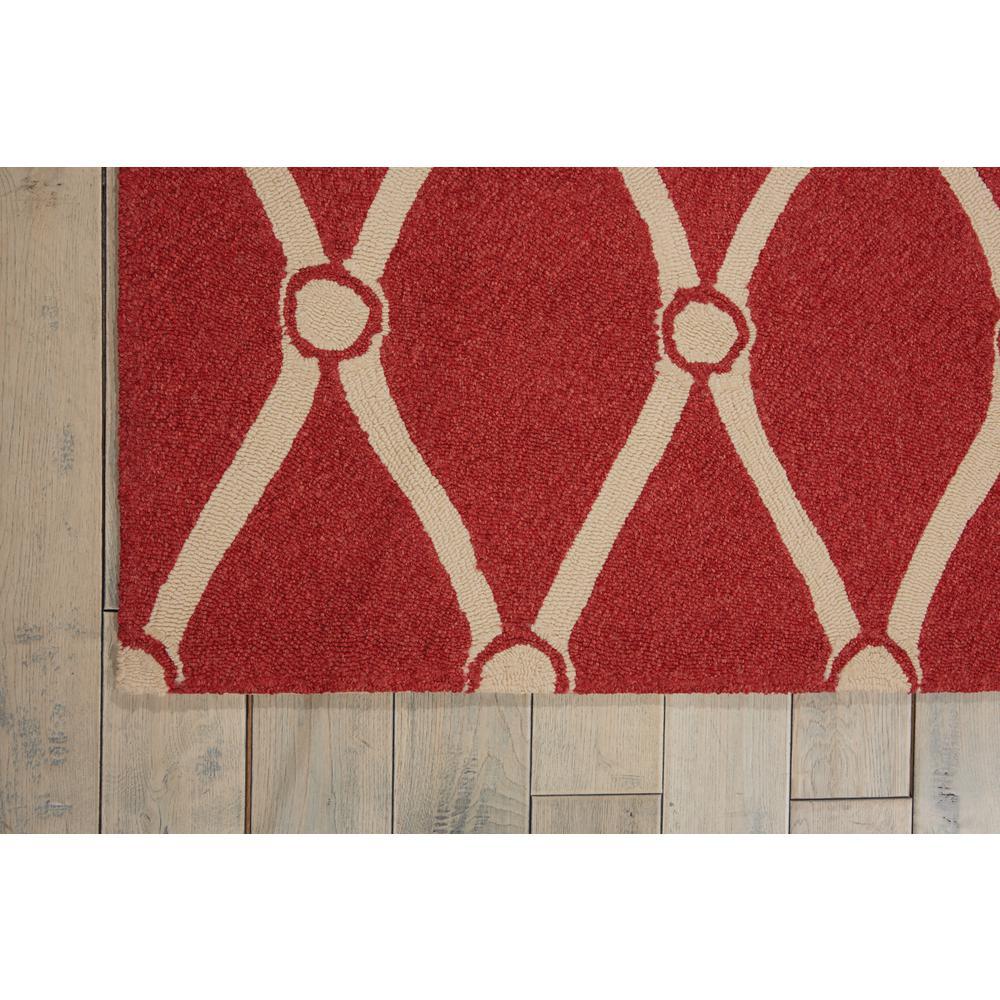 Portico Red 5 ft. x 8 ft. Indoor/Outdoor Area Rug