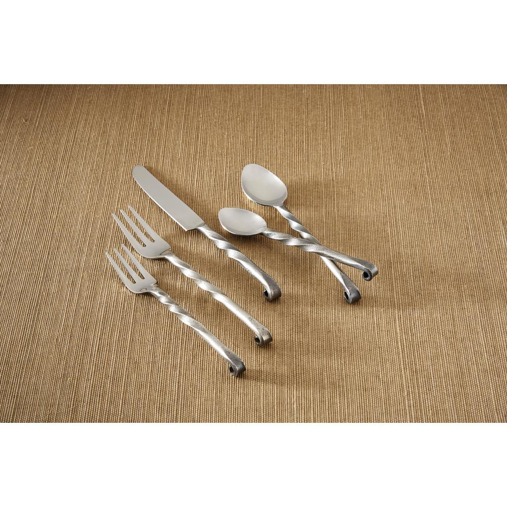 Park Designs Anderson 5 Piece Place Setting Flatware Set Service For 1 030 206 The Home Depot