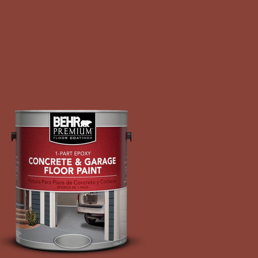 1 gal. #PPF-30 Deep Terra Cotta 1-Part Epoxy Concrete and Garage Floor Paint