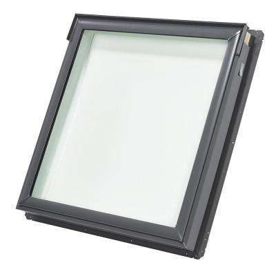 44-1/4 in. x 45-3/4 in. Fixed Deck-Mount Skylight with Tempered Low-E3 Glass