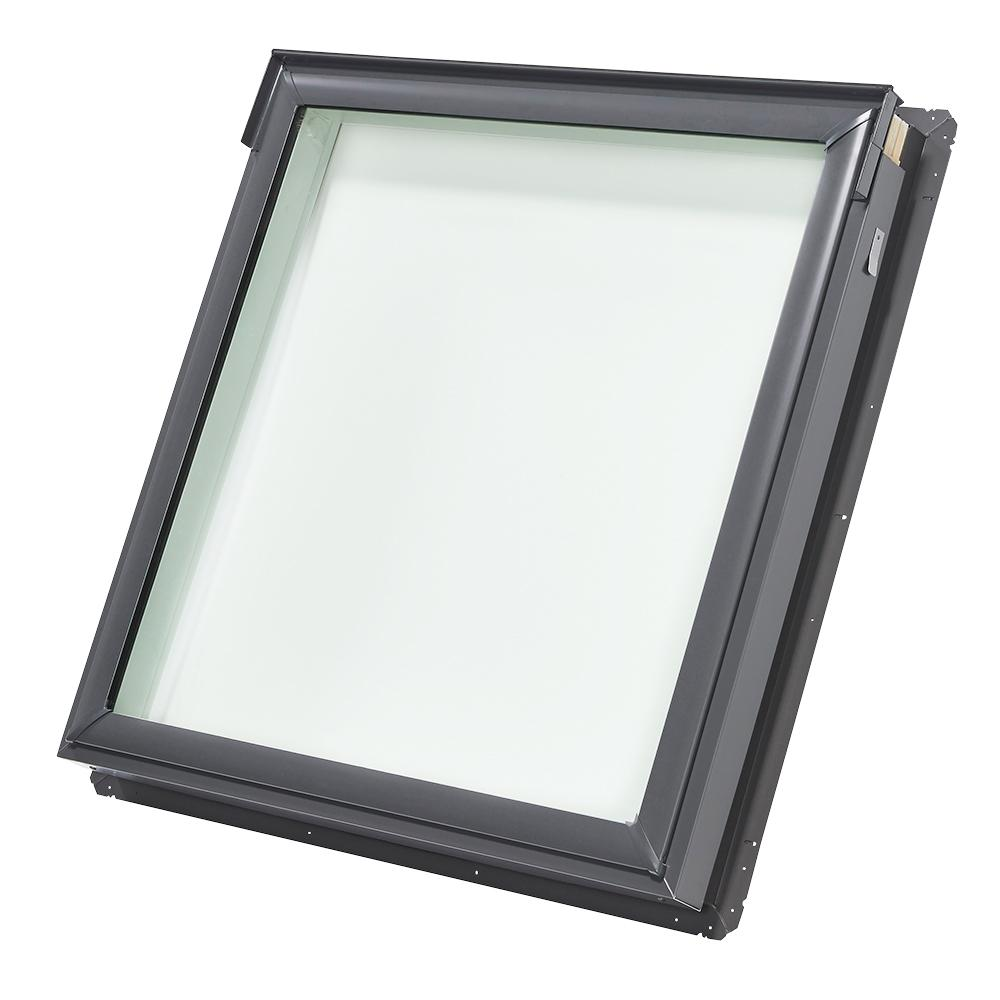 VELUX 44-1/4 in. x 45-3/4 in. Fixed Deck-Mount Skylight with Laminated Low-E3 Glass