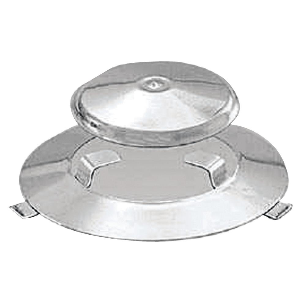 2-Piece Radiant Plate and Dome Assembly for Marine Kettle Stove and