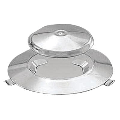 2-Piece Radiant Plate and Dome Assembly for Marine Kettle Stove and Gas Grill
