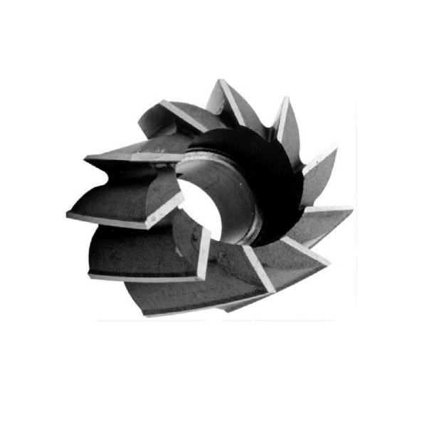 Drill America 1/4 in. x 3/8 in. Shank High Speed Steel End Mill Specialty Bit with 2-Flute Ball